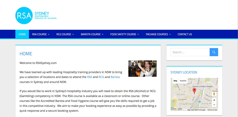 Rsa course sydney classroom course quick online booking xflitez Image collections